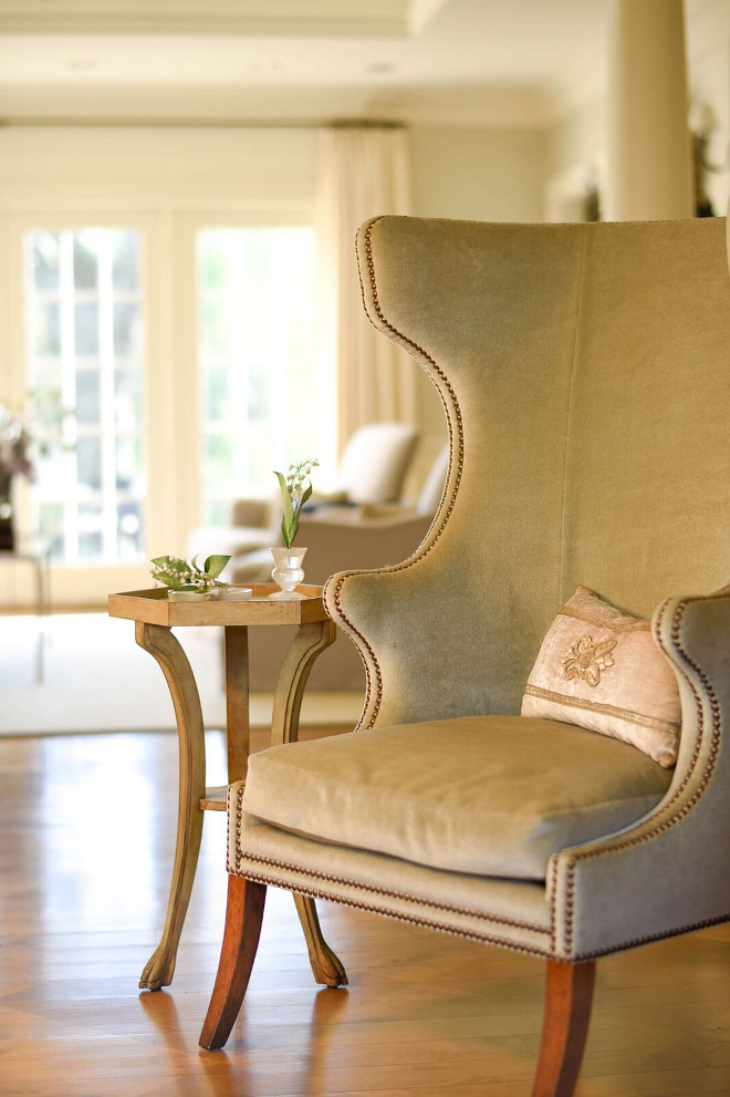 Wingback Chair. Wingback Chair Wingback chair is chair is from Dessin Fournir #WingbackChair Home Bunch's Beautiful Homes of Instagram @loveyourperch