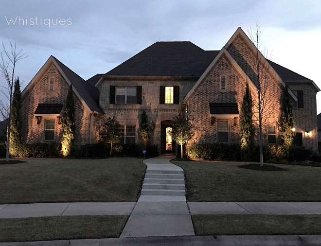 Brick Exterior. Brick Exterior. Brick Exterior. Brick Exterior. Brick Exterior. Brick Exterior #BrickExterior Beautiful Homes of Instagram @whistiques