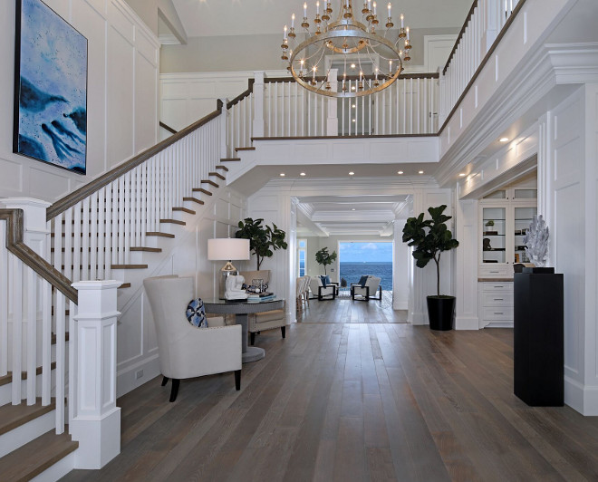 Foyer Architecture House : White cape cod beach house design home bunch interior