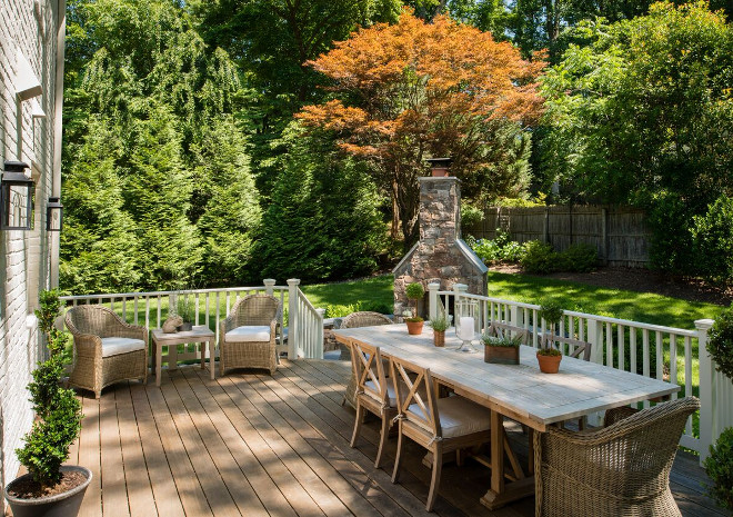 Deck Furniture and decor. Deck Furniture and decor. Deck Furniture and decor ideas. Deck Furniture and decor #DeckFurniture #Deckdecor Anthony Wilder Design/Build, Inc