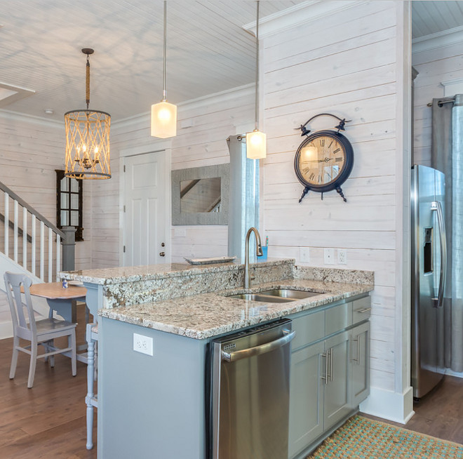 Granite Countertop. Kitchen Granite Countertop. This Granite works great with grey or white cabinets. The countertops are Granite, called White River #GraniteCountertop #Kitchen #Granite #Countertop #WhiteRiver #Granite Erin E. Kaiser, Kaiser Real Estate Sales, Inc