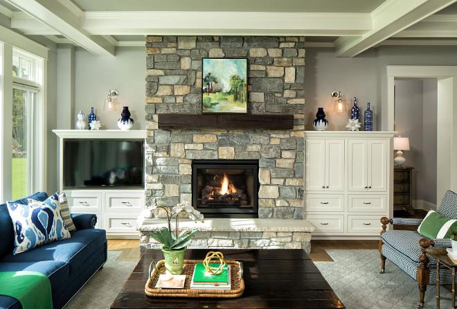 Grey Fireplace stone Grey Fireplace stone ideas Grey Fireplace stone #GreyFireplacestone #Greystone #Fireplacestone #fireplace #stone Grace Hill Design