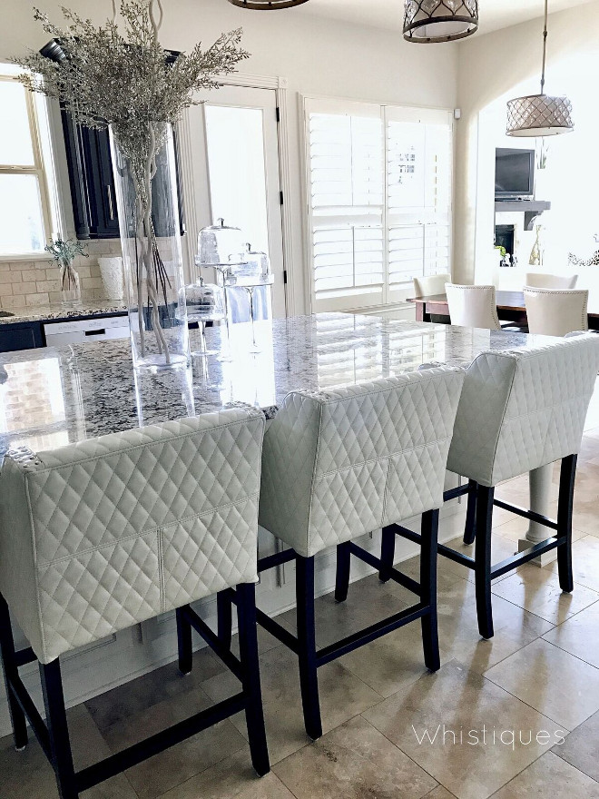 Kitchen Counterstools. The counterstools are Christopher Knight (Overstock). Kitchen Counterstools. Kitchen Counterstools. Kitchen Counterstools. Kitchen Counterstools #Kitchen #Counterstools Beautiful Homes of Instagram @whistiques