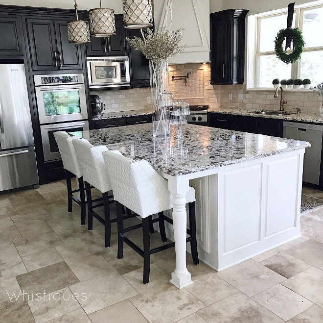 Kitchen barstools Kitchen barstools. Island size: 5 X 7.5 ft Kitchen barstools Kitchen barstools Kitchen barstools Kitchen barstools Kitchen barstools #Kitchen #barstools Beautiful Homes of Instagram @whistiques