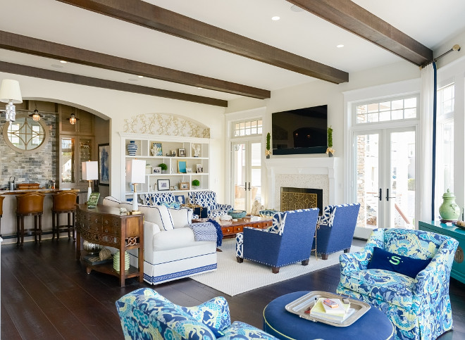Classic Shingle Home With Beautiful Interiors Home Bunch Interior Design Ideas