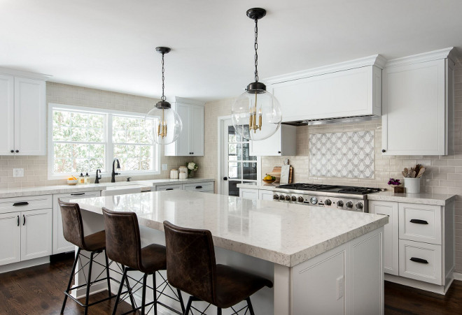 New Fresh Off White Kitchen Design Home Bunch