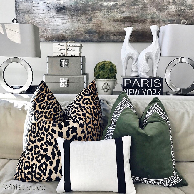 Pillow Ideas. Pillow Ideas. Pillow Ideas. Pillow Ideas Pillow Ideas #PillowIdeas Beautiful Homes of Instagram @whistiques
