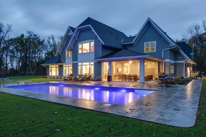 Pool Backyard Ideas #Pool #Backyardideas Grace Hill Design, Gordon James Construction