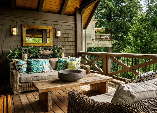 Porch Furniture and Decor. Porch Furniture and Decor. Porch Furniture and Decor. Porch Furniture and Decor Ideas #PorchFurniture #PorchDecor Garrison Hullinger Interior Design Inc
