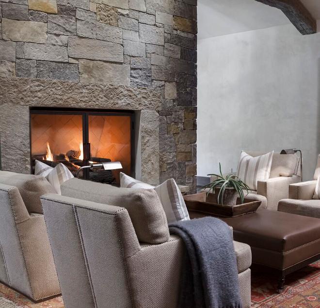 Stone Fireplace. Stone Fireplace. Stone Fireplace. Stone Fireplace. Stone Fireplace #StoneFireplace Tiffany Farha Design
