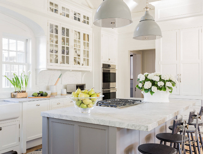 Classic Coastal Style Kitchen Design Home Bunch Interior