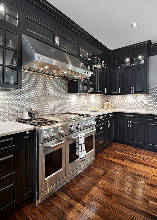 Tricorn Black by Sherwin Williams. Tricorn Black by Sherwin Williams. Tricorn Black by Sherwin Williams. Tricorn Black by Sherwin Williams. Tricorn Black by Sherwin Williams #TricornBlackSherwinWilliams Laurysen Kitchens Ltd.