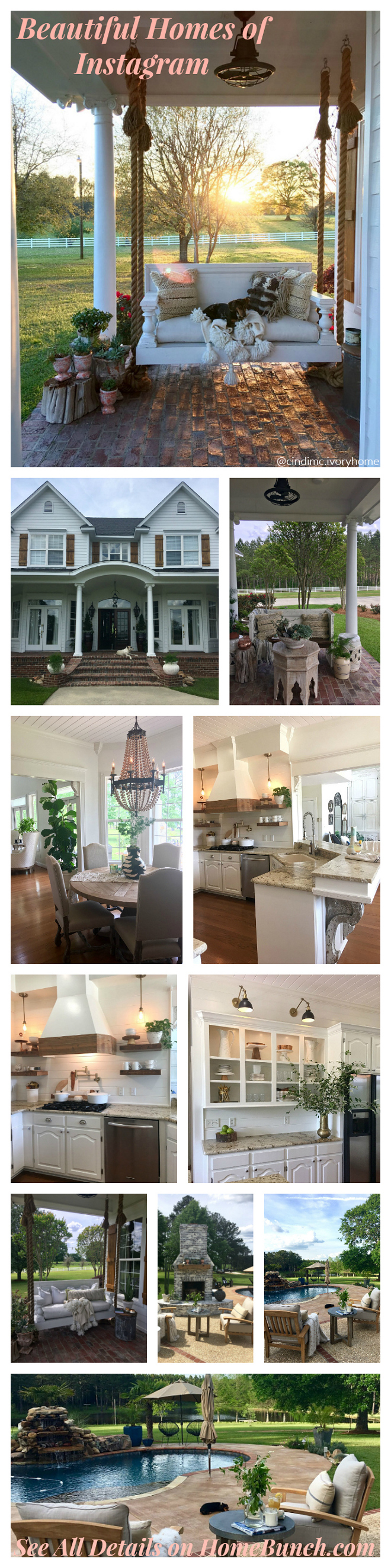 Beautiful Homes of Instagram @cindimc.ivoryhome Farmhouse #Farmhouse
