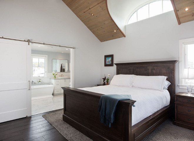 Bedroom Sliding Barn Door to ensuite. Bedroom Sliding Barn Door to bathroom ideas. Bedroom Sliding Barn Door to ensuite. Bedroom Sliding Barn Door to ensuite #BedroomSlidingBarnDoor #SlidingBarnDoor #BarnDoor #ensuitebarndoor Eric Aust Architect
