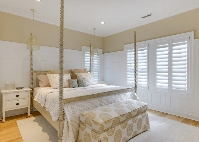 Bedroom plantation shutters. Bedroom plantation shutter ideas. Bedroom plantation shutters #Bedroomplantationshutters #plantationshutters Echelon Custom Homes