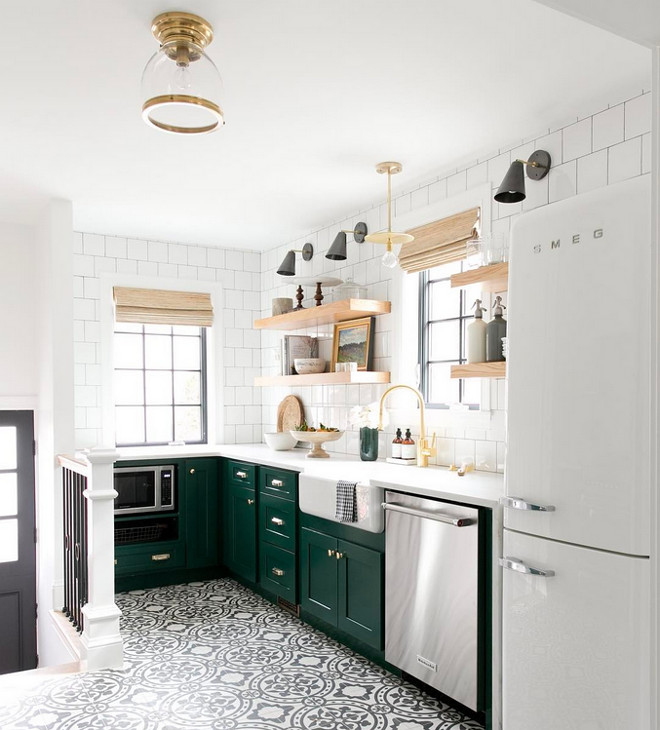 Benjamin Moore 2047 10 Forest Green Kitchen Cabinet Paint Color Is