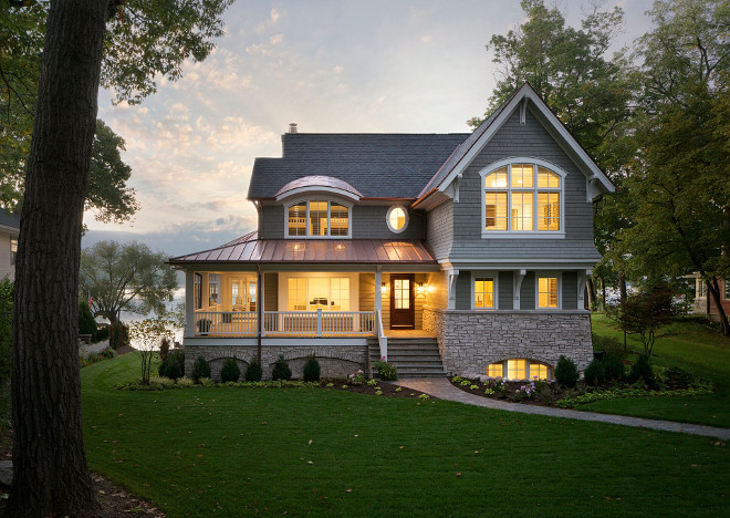 Classic Shingle Lake House Home Bunch Interior Design Ideas