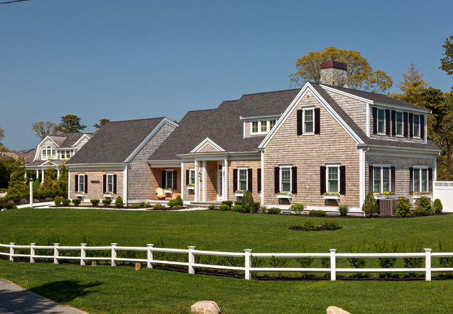 Classic Shingle Home. Classic Shingle Home Ideas. Classic Shingle Exterior Home #ClassicShingleHome Gable Building Corp.