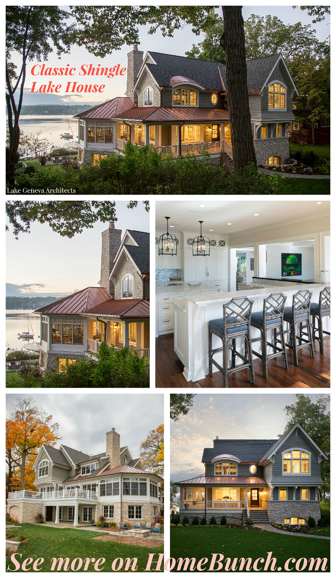 Classic Shingle Lake House. Classic Shingle Lake House Ideas. Classic Shingle Lake House Architecture #ClassicShingleLakeHouse #ClassicLakeHouse #ShingleLakeHouse