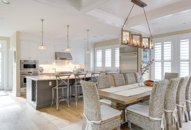 Coastal Kitchen Dining Room Design. Coastal Kitchen Dining Room Design. Coastal Kitchen Dining Room Design #CoastalKitchen #CoastalDiningRoom #KitchenDesign #DiningroomDesign Echelon Custom Homes