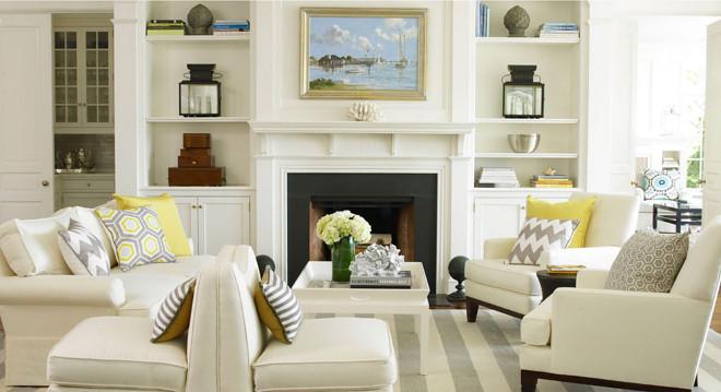 Creamy Living room