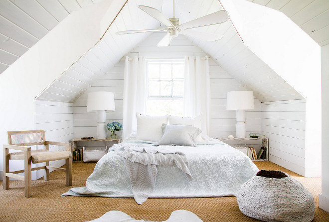 DIY Shiplap Attic. DIY Shiplap Attic Bedroom. DIY Shiplap Attic Bedroom #DIYShiplap #DIYShiplapAttic #Attic #Atticbedroom Nathaniel Dean Collective