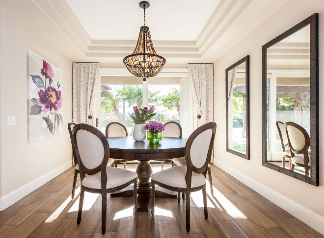 Dining Room Chandelier. Dining Room Chandelier is from Bungalow Rose, it is the Marla 5-light Empire Chandelier. Dining Room Chandelier #DiningRoomChandelier #DiningRoom #Chandelier Laura Abrams Design