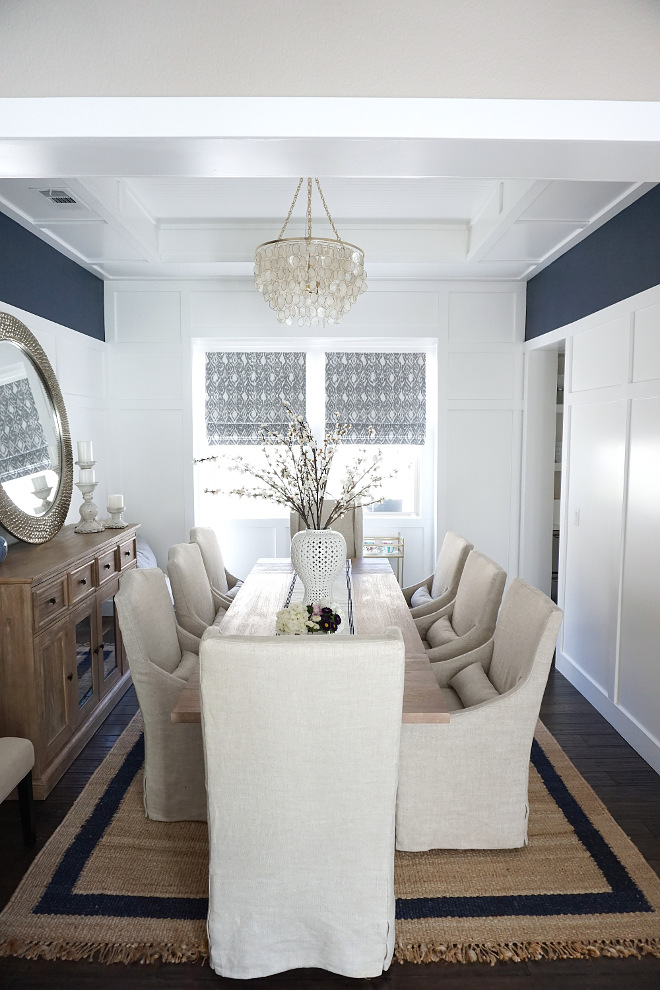 Dining room rug. Sisal Rug. Dining room rug. Dining room sisal rug Dining room rug. Rug is from Serena & Lily. Sisal Rug. Dining room rug. Dining room sisal rug #Diningroom #rug #SisalRug #Diningroomrug Beautiful Homes of Instagram @MyHouseOfFour