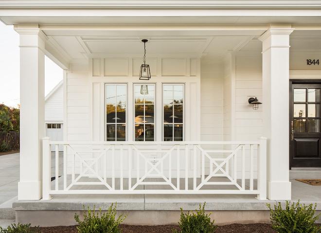 Farmhouse Porch Railing Ideas
