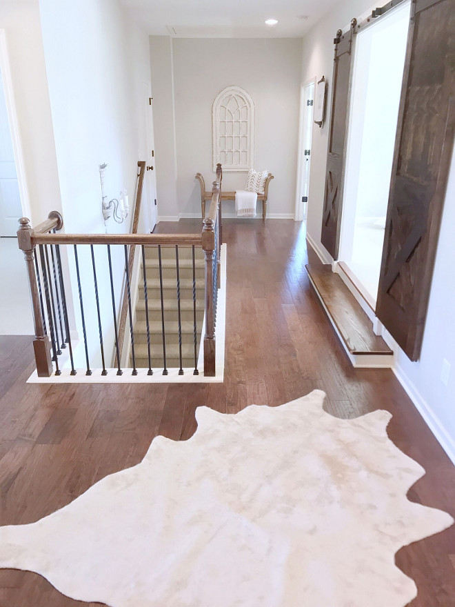 Flooring. Hardwood Flooring. Wood flooring is Nottoway 5-inch handscraped in warm sunset. Flooring. Hardwood Flooring. Wood flooring. Flooring. Hardwood Flooring. Wood flooring #Flooring #HardwoodFlooring #Woodflooring Beautiful Homes of Instagram @sugarcolorinteriors