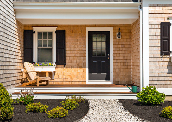 Front Porch. Shingle Home Front porch. Front Porch. Shingle Home Front porch ideas #FrontPorch #ShingleHomeporch Gable Building Corp.