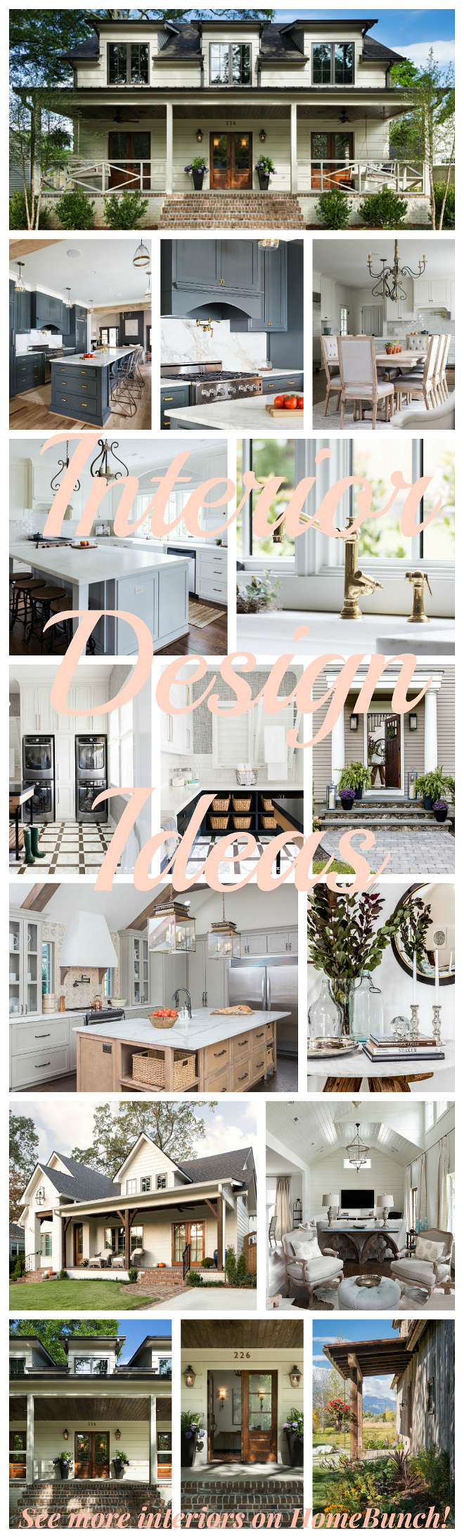 Interior Design Ideas. Home Bunch Blog weekly series showcasing the lastest interior design trends. Interior Design Ideas #InteriorDesign #InteriorDesignIdeas #blogs
