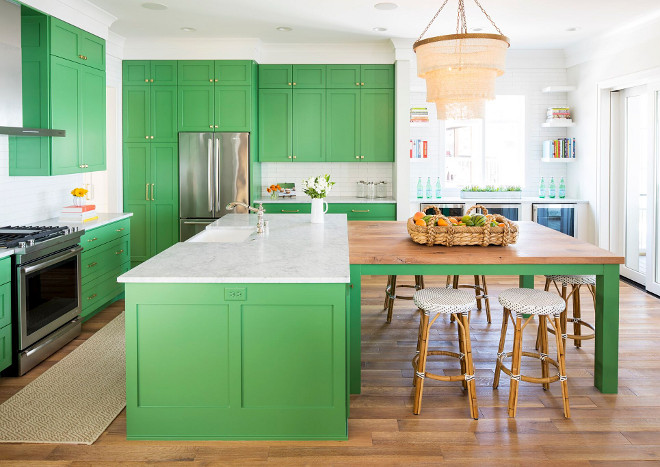 Kitchen island. Kitchen island with adjoining table. T-shaped kitchen island. Kitchen island. T-shaped kitchen island ideas. Kitchen island. T-shaped kitchen island design #Kitchenisland #Tshapedkitchenisland Martha O'Hara Interiors