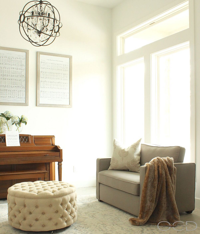 Music Room. Music Room Decorating Ideas. Music Room Decorating Ideas. Music Room Decorating Ideas. Neutral Music Room Decorating Ideas #MusicRoom #MusicRoomDecoratingIdeas Beautiful Homes of Instagram @organizecleandecorate