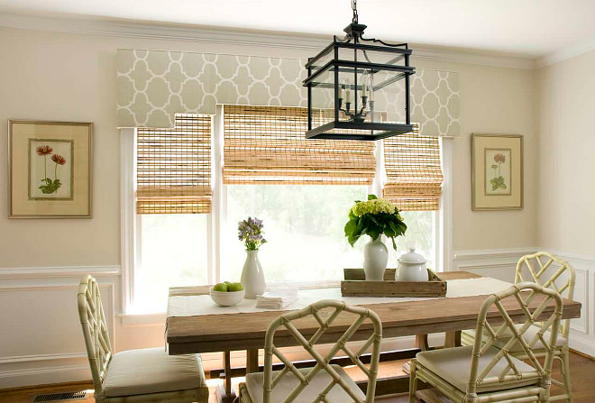 The Best Blinds And Shades For Dining Rooms Home Bunch