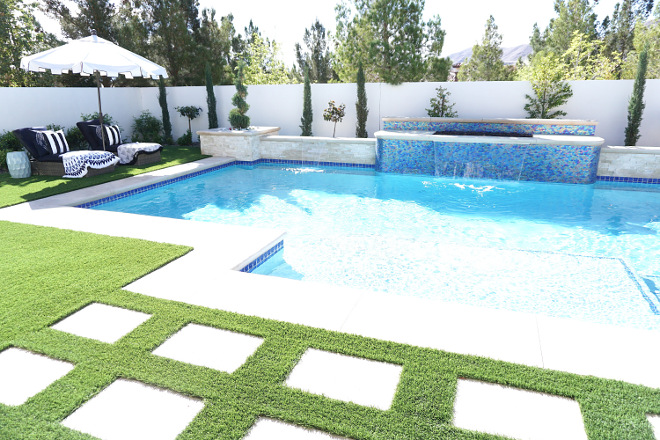Pool and spa ideas. Backyard with pool and spa. Pool and spa ideas. Backyard with pool and spa ideas #Poolandspa #pool #poolbackyardideas #Backyard #poolspa Beautiful Homes of Instagram @MyHouseOfFour