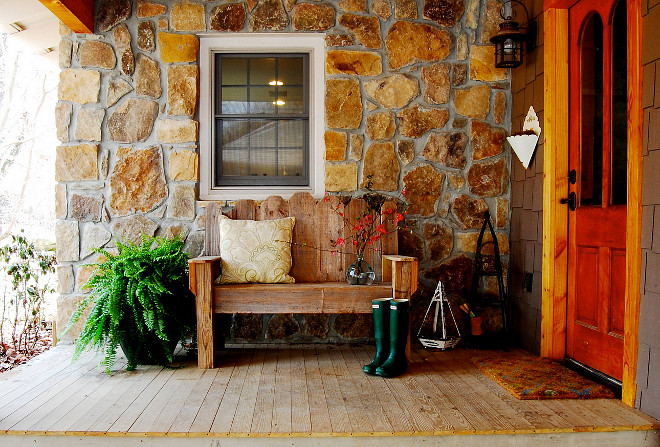 Porch Bench. Porch Bench. Porch Bench. Porch Bench Ideas #Porch #Bench Corynne Pless