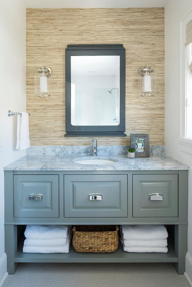 Blue Kids Bathroom Paint
