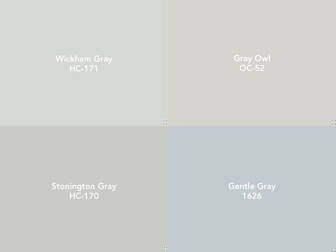 Soothing Benjamin Moore Paint Colors Hc 171 Wickham Gray