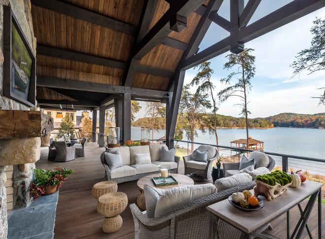 Timber back porch. Timber back porch. Timber back porch #Timberbackporch #backporch Wright Design