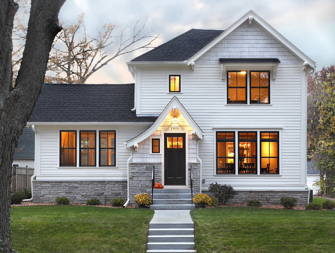 Learn how to move the perfect room from one house to - Benjamin moore white dove exterior ...