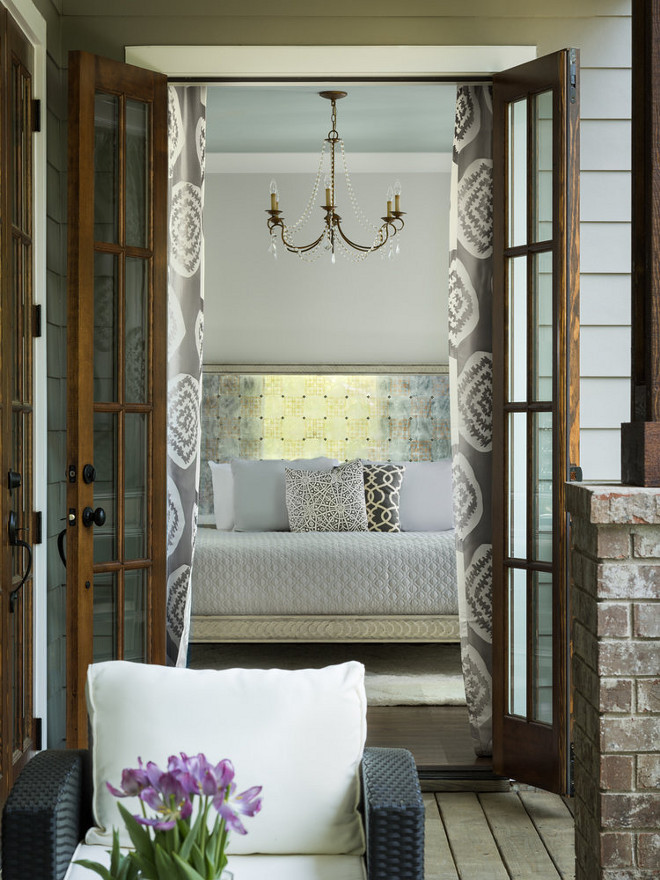 Bedroom French Doors to Deck. Bedroom features French doors, which opens to an expansive deck. Bedroom French Doors open to deck. Bedroom French Doors to Deck Ideas. Bedroom French Doors to Deck. Bedroom French Doors open to deck. Bedroom French Doors to Deck Ideas <Bedroom> <French Doors> <Deck> #Bedroom #FrenchDoors #BedroomFrenchDoors Willow Homes
