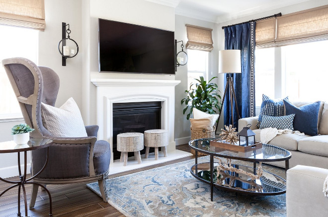 Blue, white, greys and beige living room color scheme. Blue, white, greys and beige living room color scheme ideas. Blue, white, greys and beige living room color scheme. Blue, white, greys and beige living room color scheme #Bluewhite #greys #beige #livingroom #colorscheme Juxtaposed Interiors