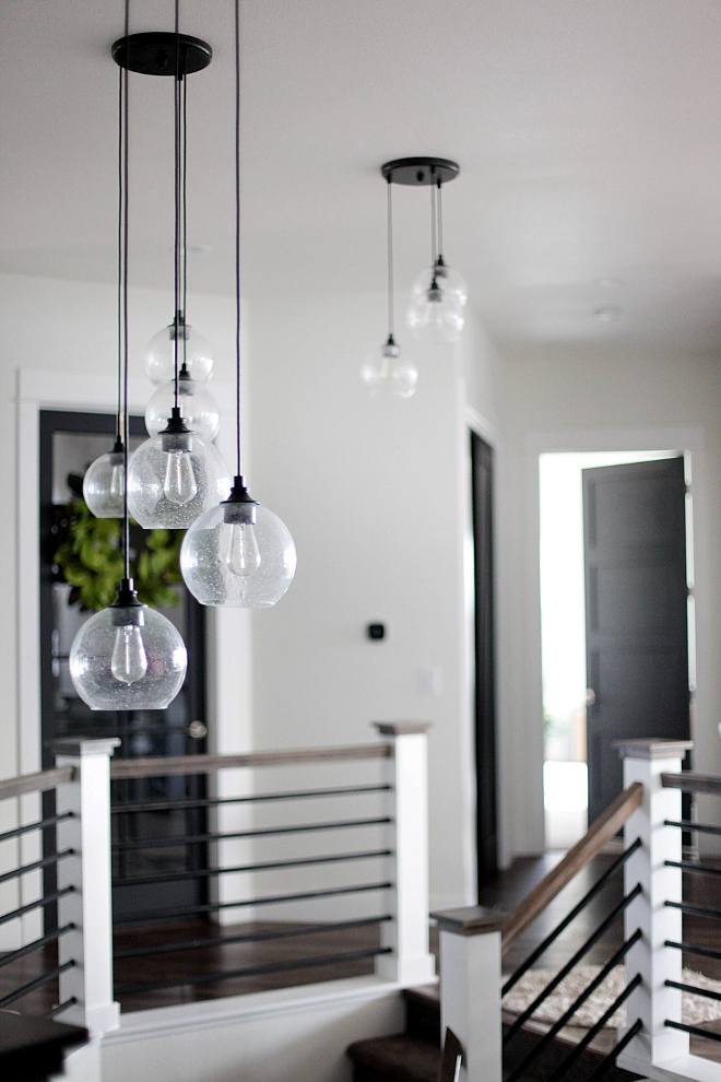 Farmhouse Style Lighting. Farmhouse Style Lighting. Lighting is from cb2 - firefly pendant light. Farmhouse Style Lighting. Farmhouse Style Lighting. Farmhouse Style Lighting. Farmhouse Style Lighting #FarmhouseStyleLighting #FarmhouseLighting Home Bunch's Beautiful Homes of Instagram @household no.6