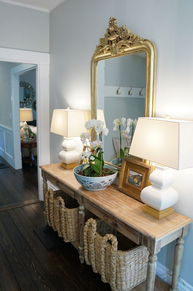 Beautiful homes of instagram home bunch interior design ideas - Restoration hardware entry table ...
