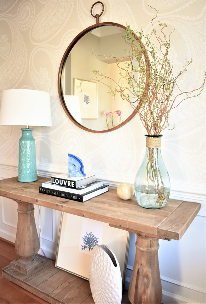 Foyer Table. Foyer Table. Foyer Table Ideas. Foyer Table. Foyer Table #FoyerTable #Foyer #Table Kate Abt Design