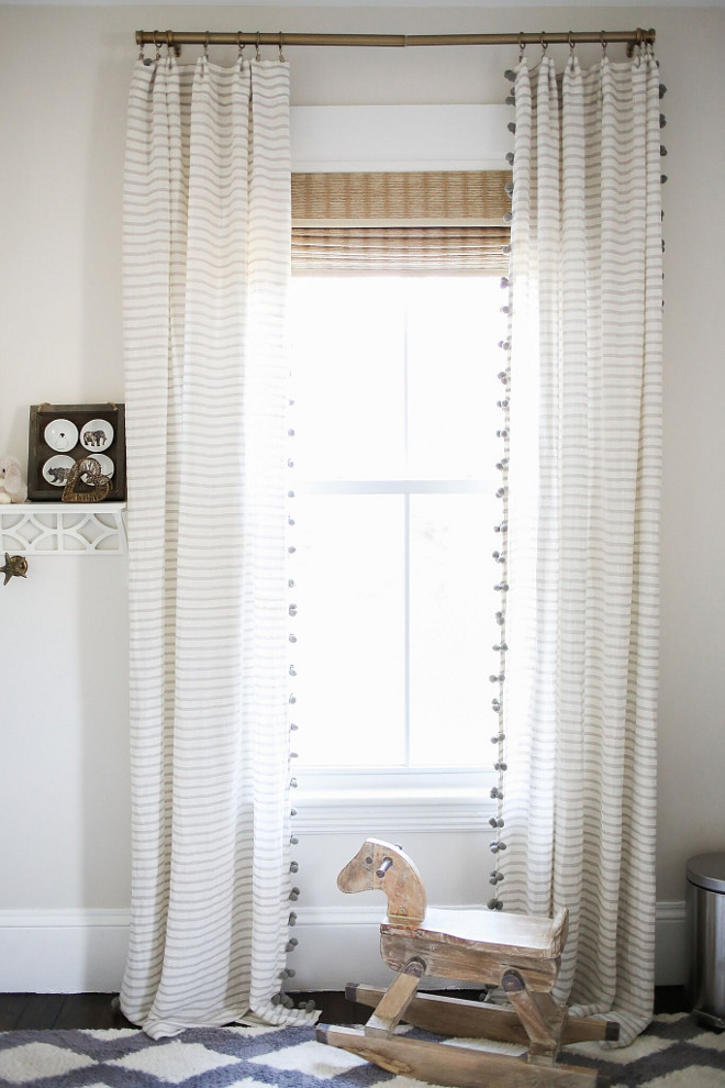 Kids bedroom curtains. The beautiful curtains are from Anthropologie. Home Bunch Beautiful Homes of Instagram @finding__lovely