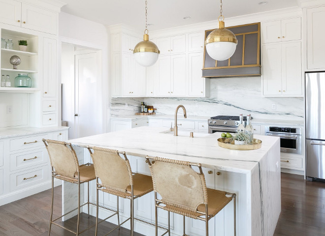 Kitchen Barstools. Leather Barstools. Kitchen Leather Barstools. Leather Barstools Ideas. Leather Barstools #LeatherBarstools #KitchenBarstools #Barstools Ramage Company. Leslie Cotter Interiors, LLC