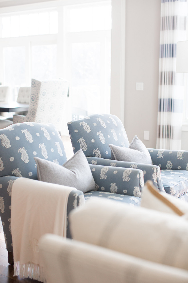 Living room chairs. Living room chair fabric. Living room chair ideas. Chairs are CR Laine-Deville. Living room chairs. #Livingroomchair #Livingroomchairs #Livingroomchairideas #Livingroom #chairs Bria Hammel Interiors