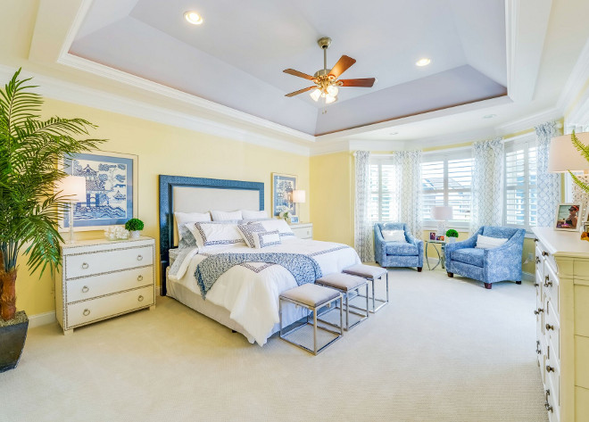 Master Bedroom Tray Ceiling. Master Bedroom Tray Ceiling Ideas. Master Bedroom Tray Ceiling. Master Bedroom Tray Ceiling. The master bedroom features tray ceiling and bay windows. #MasterBedroom #TrayCeiling Echelon Custom Homes
